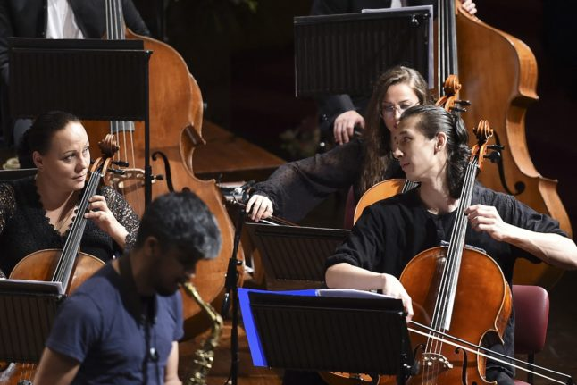 Swiss orchestra's pandemic performances hit right note