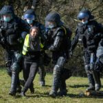 Swiss police clear months-long quarry protest