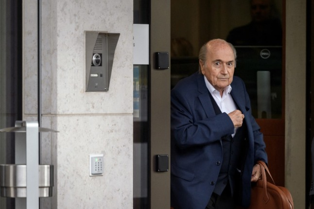 Former FIFA chief Blatter faces final hearing in Switzerland in payment probe