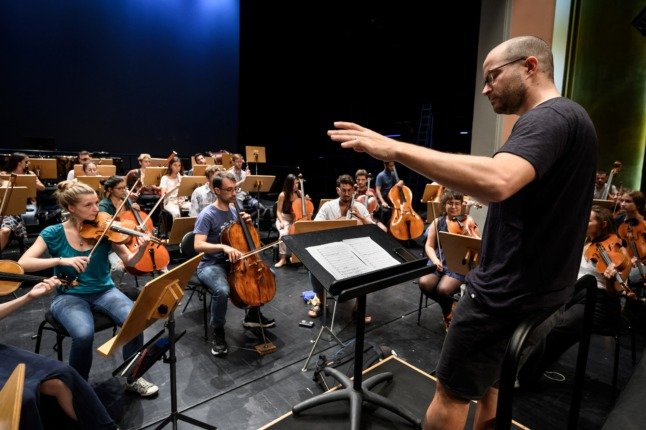 Unfinished Beethoven symphony reimagined in a click in Switzerland
