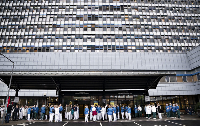 Danish nurses hit with fines over ongoing protests