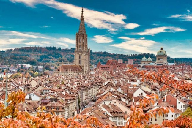 Why is Bern the 'capital' of Switzerland?