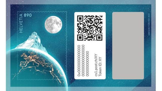 New crypto stamp was just launched in Switzerland