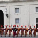 Why do the Swiss guard the Vatican?