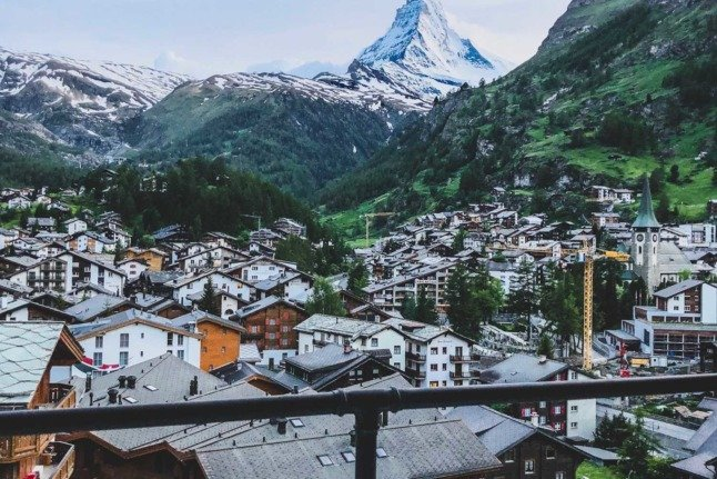 Zermatt in Switzerland is one of the most scenic places in the world.