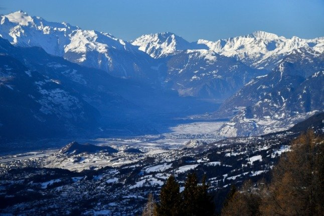 The 4.1-scale earthquake struck some areas of Valais and was felt also in the Rhône Valley.